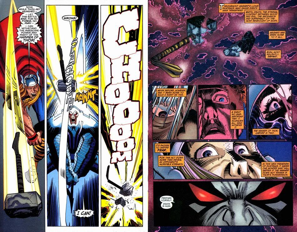 7 personajes Marvel que destruyeron el martillo de Thor