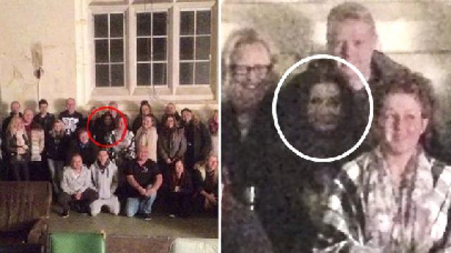 Escalofriante: el fantasma que se hace fotos con los visitantes