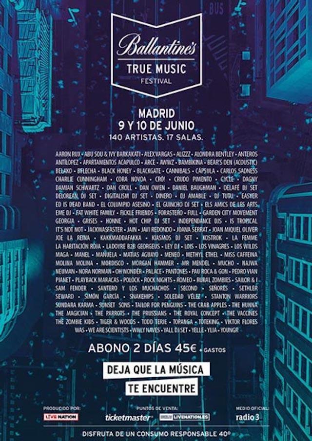 Nace Ballantine ́s True Music Festival