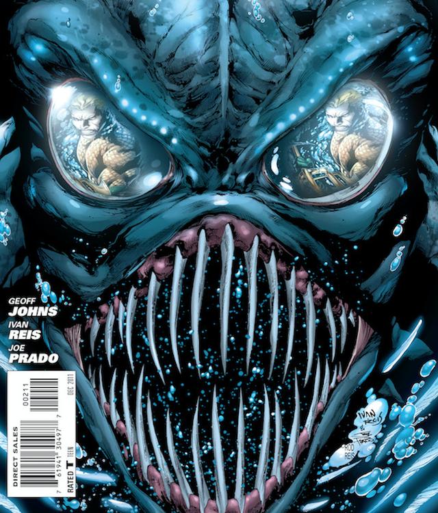 Aquaman será una película de terror y tendrá monstruos