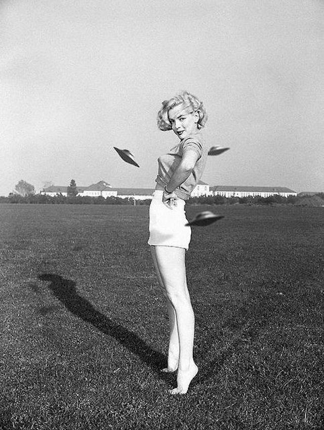 El documental que demuestra que Marilyn Monroe murió por culpa de los OVNIS