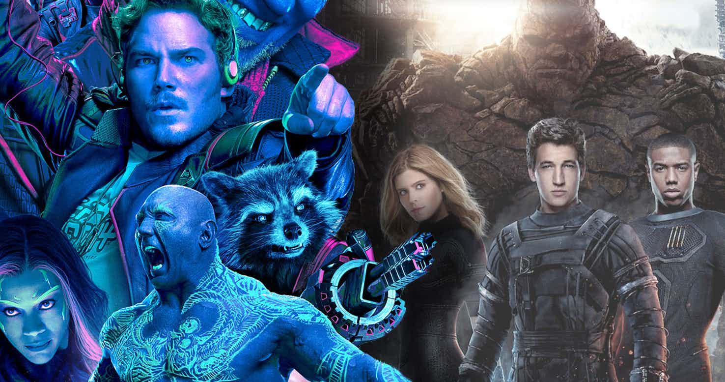 Los planes futuros de los Guardianes de la Galaxia y los Cuatro Fantásticos