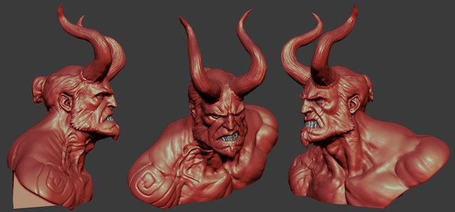 Hellboy será violenta y oscura, una película de terror y superhéroes, dice su director