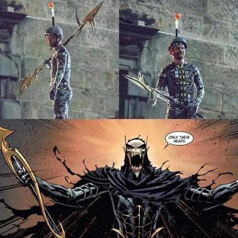 Nuevos personajes de La Orden Negra en 'Vengadores: La Guerra de Infinito'