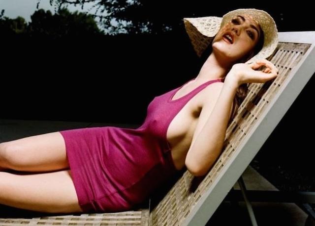 Madeline Zima desnuda, Twin Peaks vuelve a lo grande