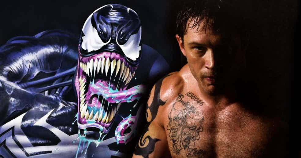 Tom Hardy será Venom en una película de calificación R