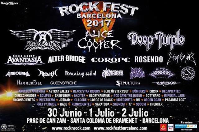 Barcelona será la capital mundial del rock: vuelve Rock Fest