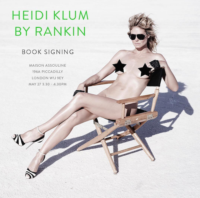 Heidi Klum desnuda, por primera vez con un desnudo integral