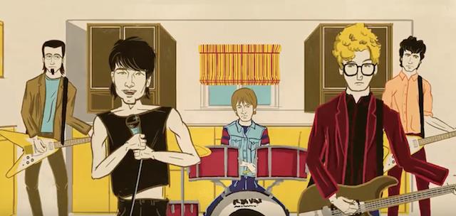 La historia de U2 en un corto de dibujos animados