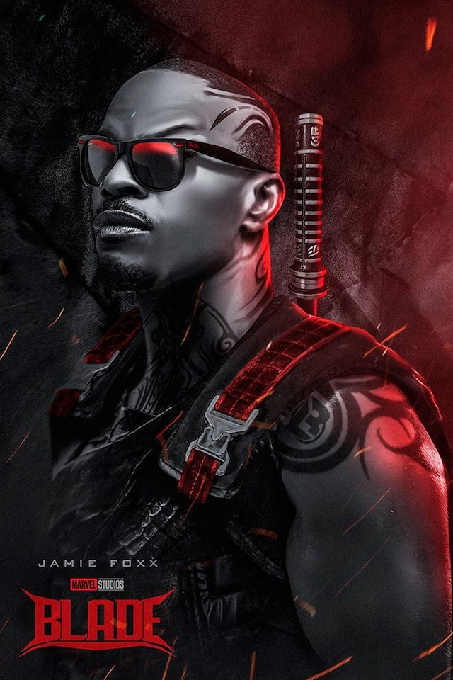 Jamie Foxx, el Blade de Marvel