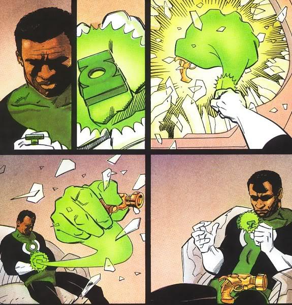 Las 5 mejores historias de Green Lantern (John Stewart) en los comics