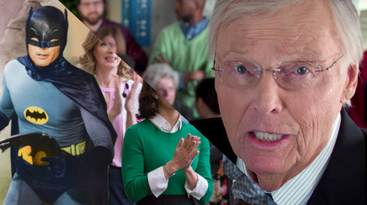 El episodio de 'Powerless' con Adam West online