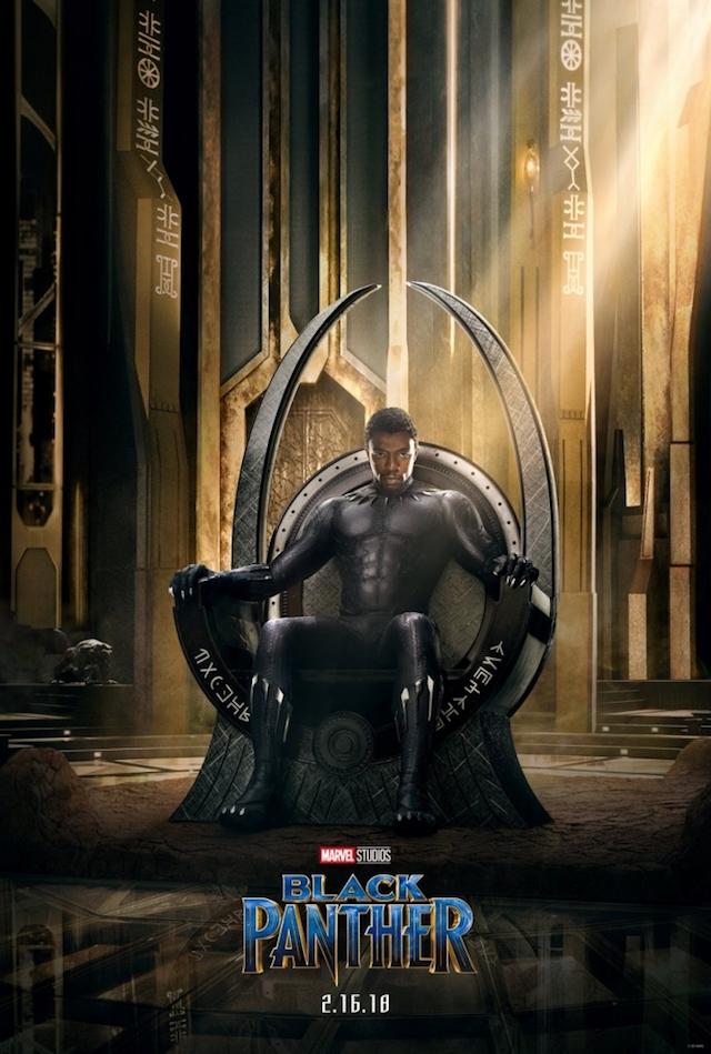 Primer póster de Black Panther