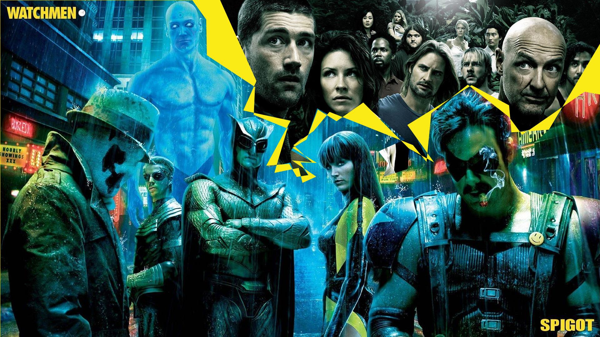Confirmada serie de 'Watchmen' a cargo del creador de 'Perdidos'