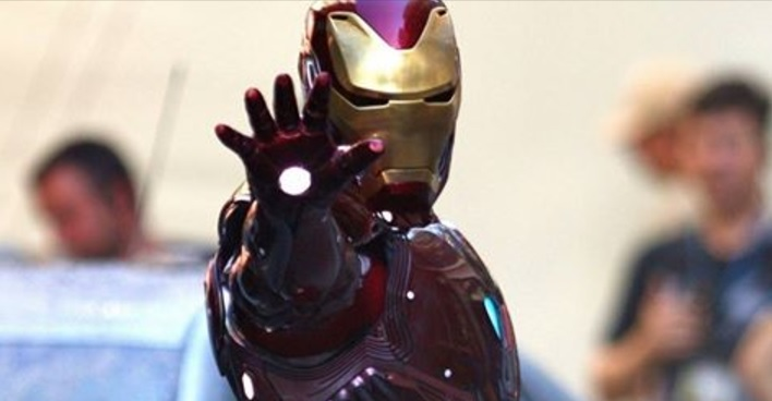 Fotos de la nueva armadura de Iron Man en 'Los Vengadores: La Guerra de Infinito'
