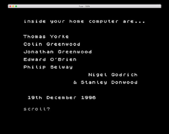 El mensaje cifrado secreto de OK Computer