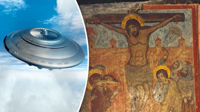 La prueba de la presencia ovni durante la crucifixión de Jesús