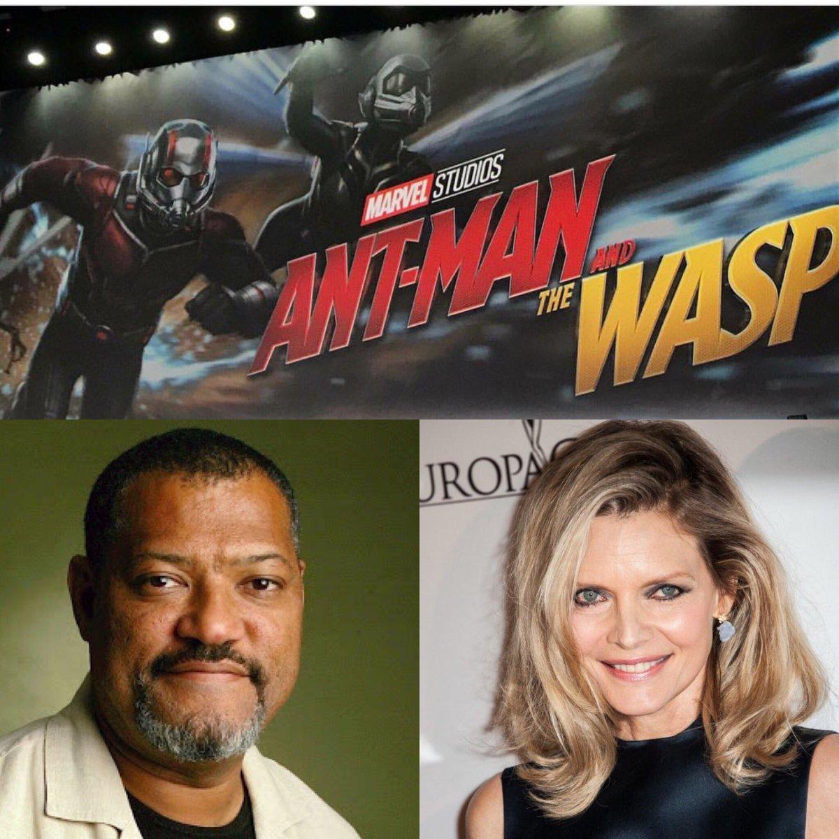 Michelle Pfeiffer será la Avispa en la nueva película de El Hombre Hormiga