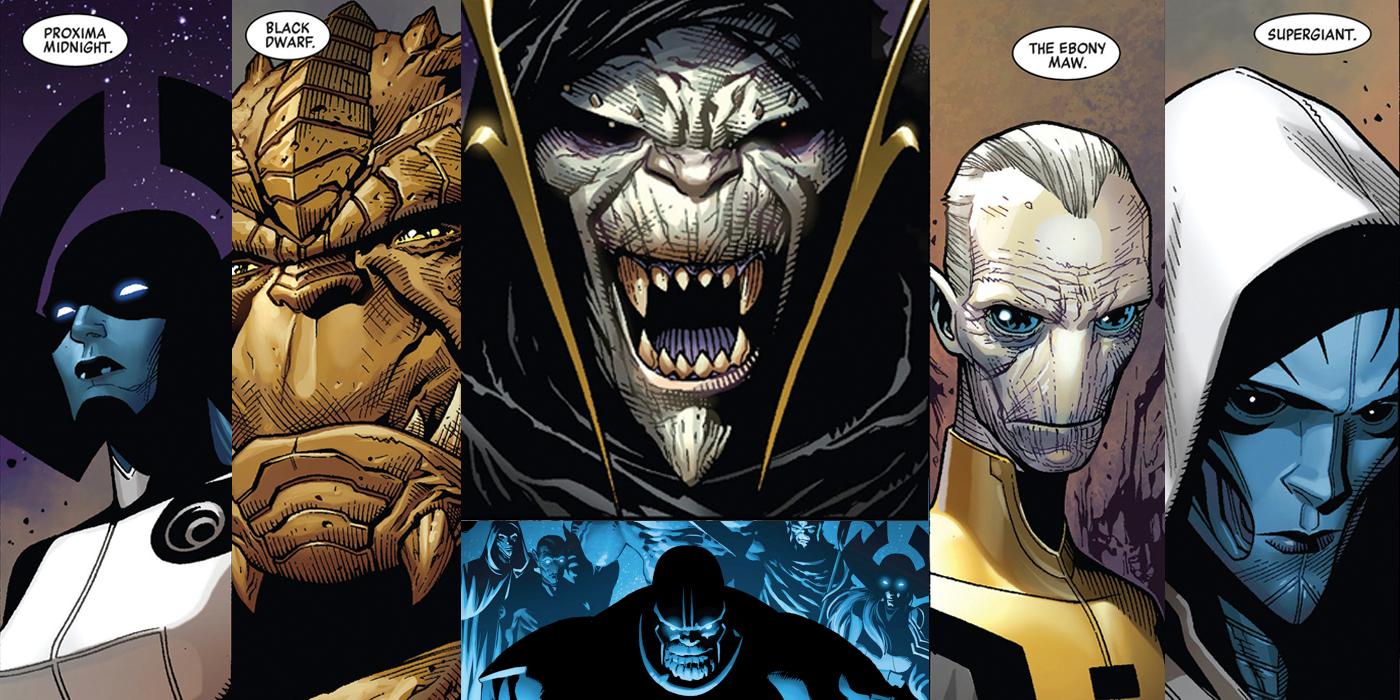Primera imagen de Los Hijos de Thanos en 'La Guerra de Infinito'