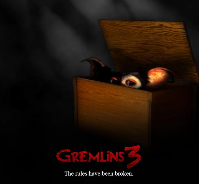 Gremlins 3 a punto de hacerse realidad