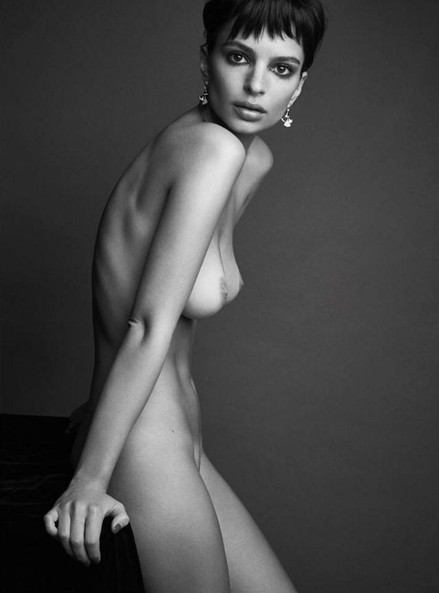 Emily Ratajkowski desnuda, nuevo look, mismo cuerpazo