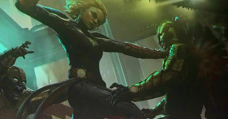 Marvel revela los villanos de Capitana Marvel