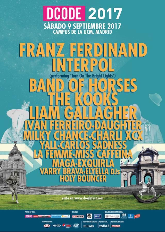 Franz Ferdinand regresa al DCODE 2017 cuatro años después