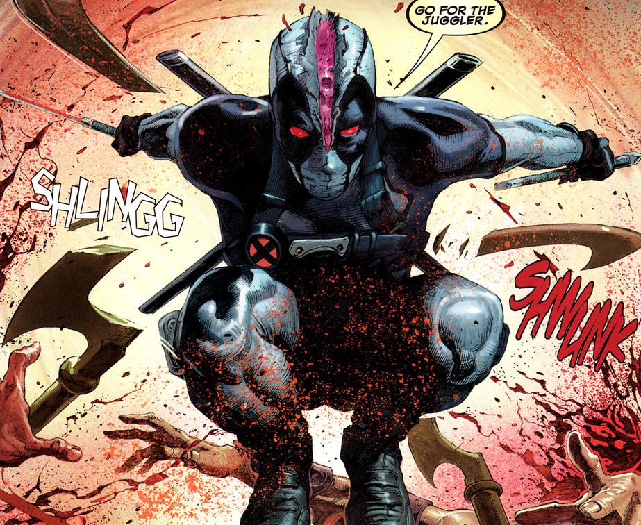 Las 5 mejores historias de Deadpool, Masacre en los comics