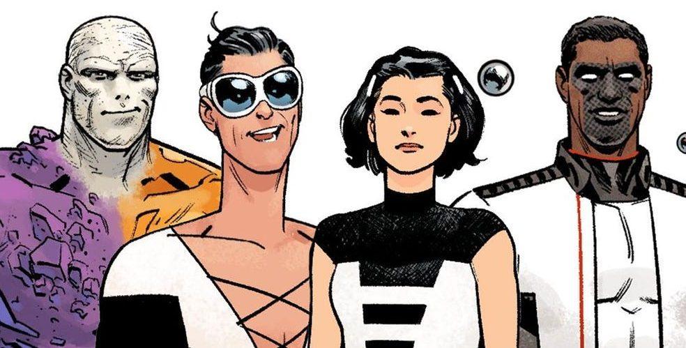 DC presenta a sus propios Cuatro Fantásticos