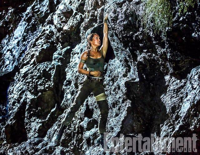 Alucinante nueva imagen de Lara Croft a tope en Tomb Raider