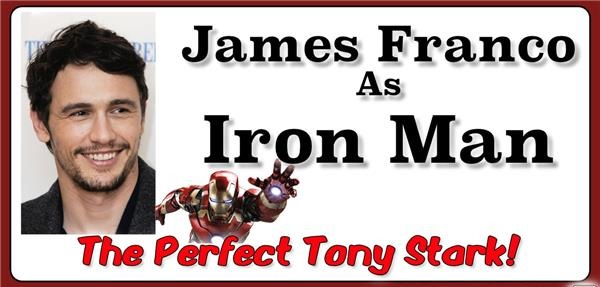 james franco iron man