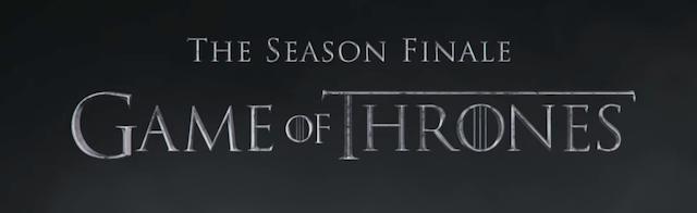 Espectacular avance del capítulo final de Juego de Tronos