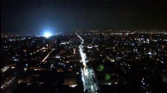 Las misteriosas luces en el cielo del terremoto de Mexico