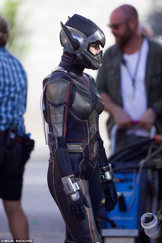Alucinantes imágenes de La Avispa en Ant Man 2