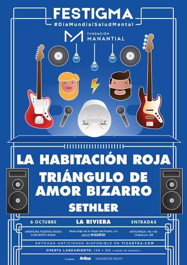 Festigma llega el 6 de octubre a Madrid