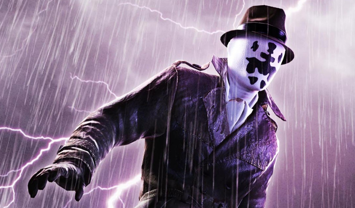 Rorschach resucita en el crossover entre Watchmen y la Liga de la Justicia