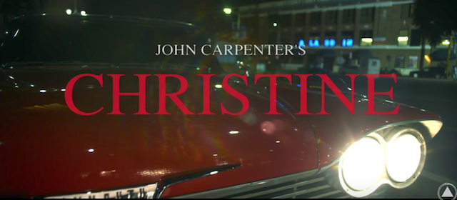 John Carpenter vuelve a dirigir Christine