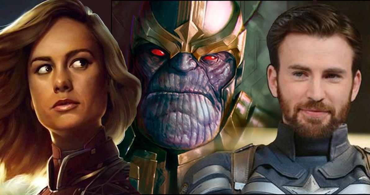 Primeras fotos del Capitán América y la Capitana Marvel en Vengadores 4