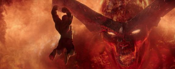 Primer vistazo a los dragones de Surtur en 'Thor: Ragnarok'