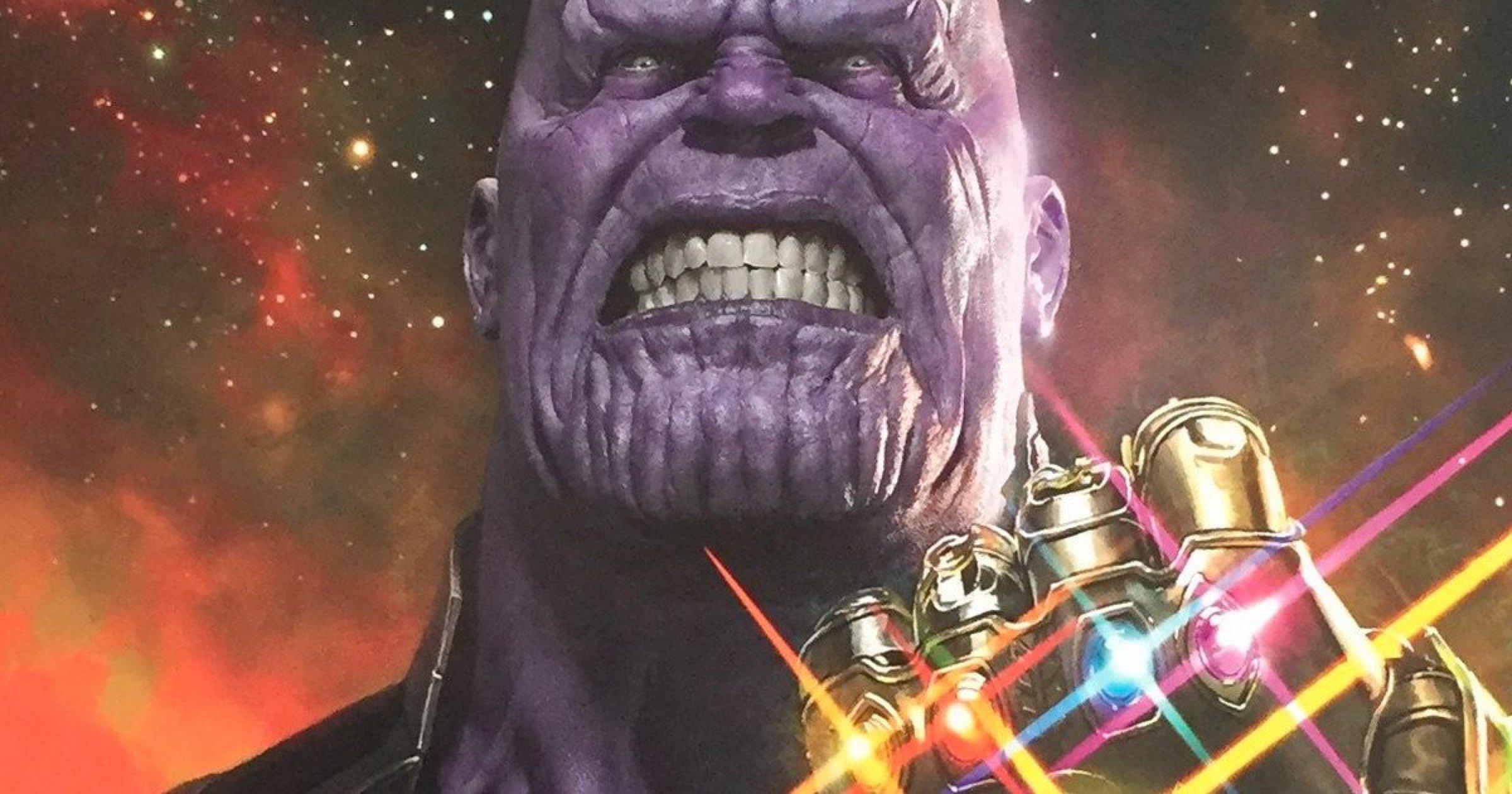 Thanos reune las Piedras de Infinito en 'Vengadores 3: Infinity War'