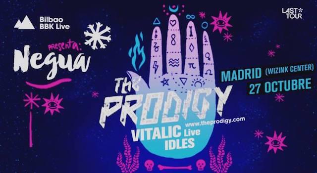 The Prodigy reventará Madrid en octubre