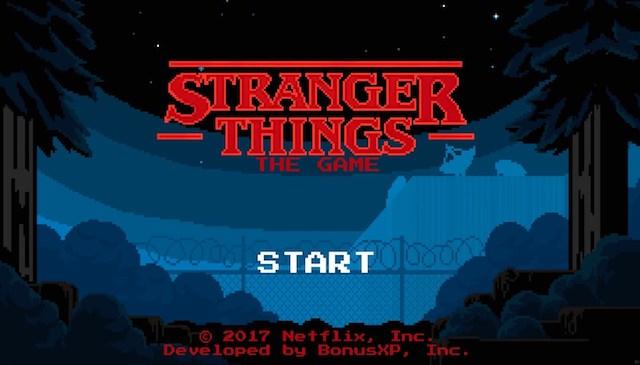 Stranger Things: el videojuego que lo peta en tu iPhone