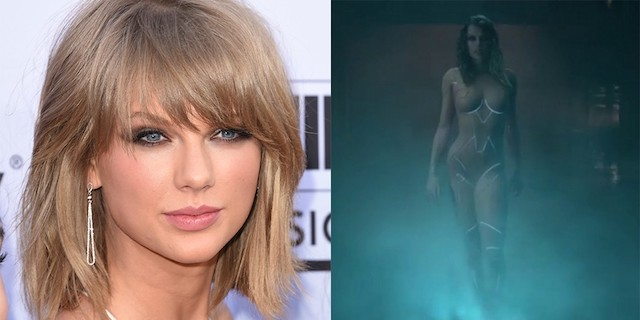 Taylor Swift desnuda, integral a lo Ghost in the Shell