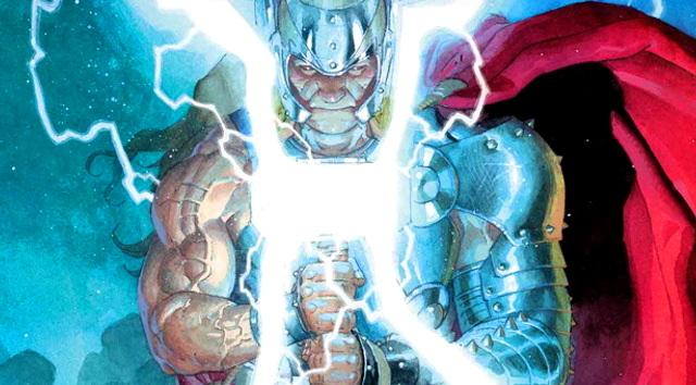 Marvel revela el nuevo martillo de Thor