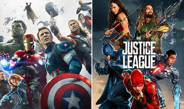 Proponen crossover entre Vengadores y la Liga de la Justica