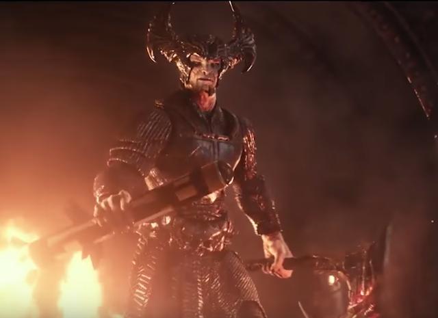 Espectaculares siete minutos de Liga de la Justicia con un brutal Steppenwolf
