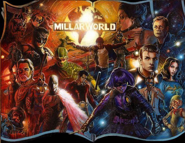 Netflix y Mark Millar anuncia la primera serie de Millarworld