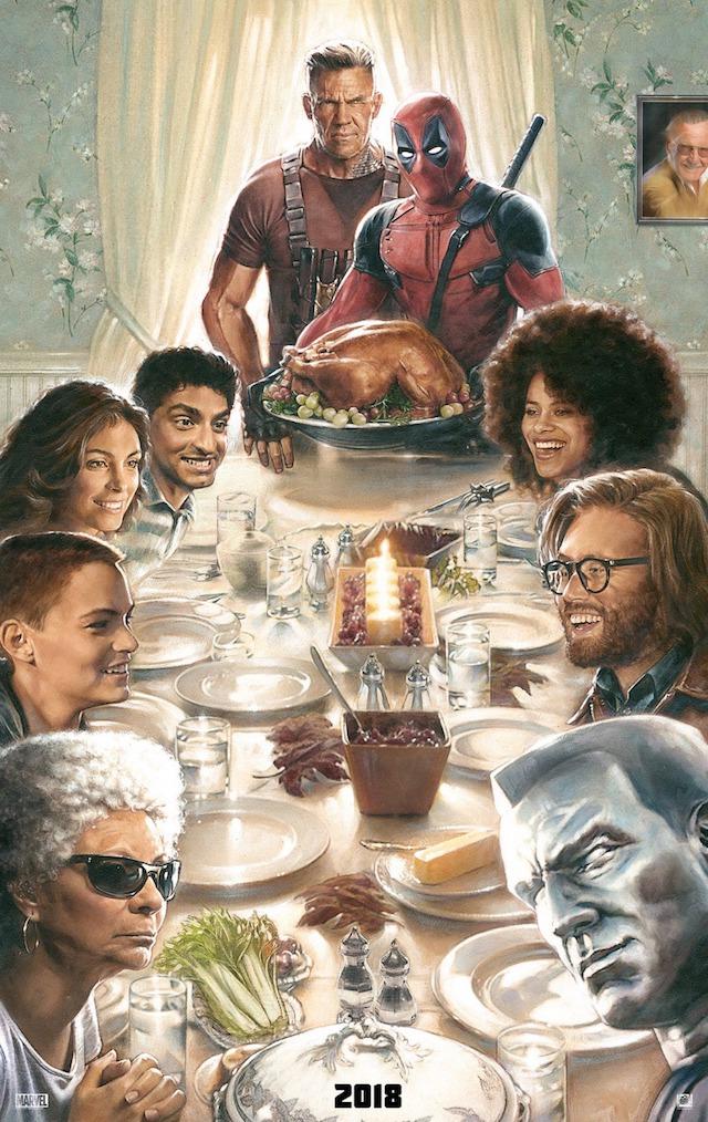 Oficial: primer póster de Deadpool 2