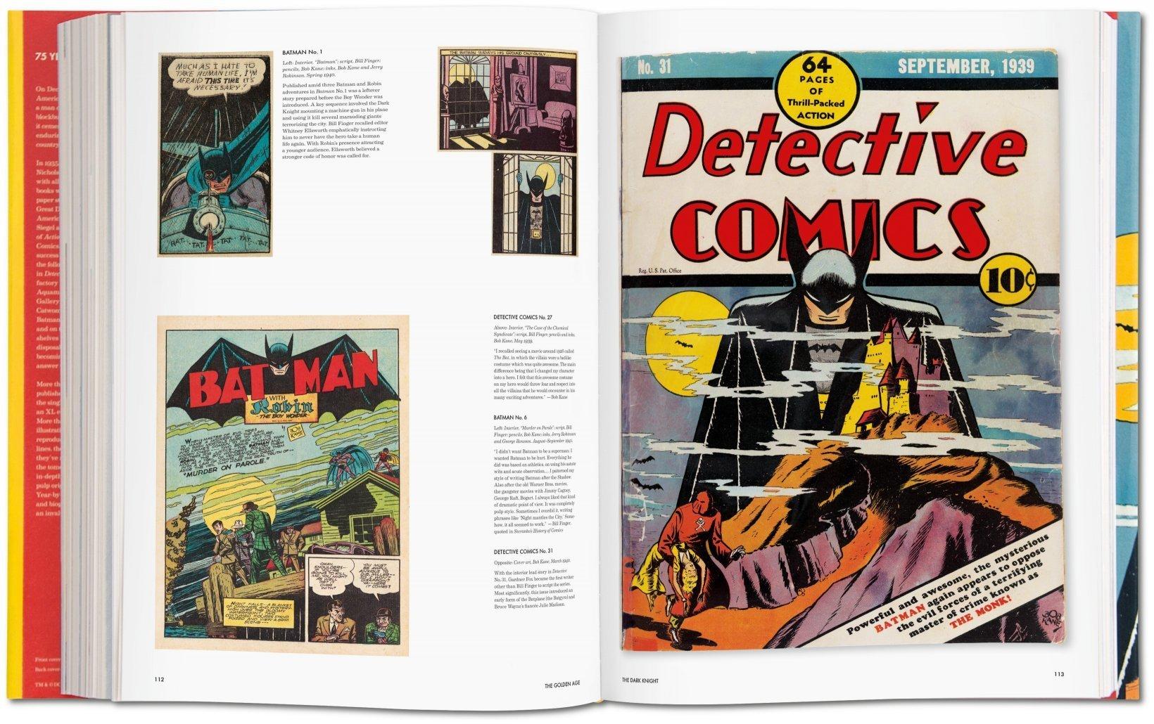 taschen dc comics