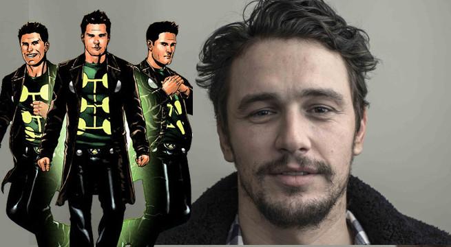 Nueva película de los X-Men con James Franco como El Hombre Múltiple